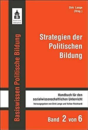 Basiswissen Politische Bildung Handbuch Fur Den