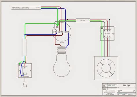 bathroom fan isolator switch wiring diagram