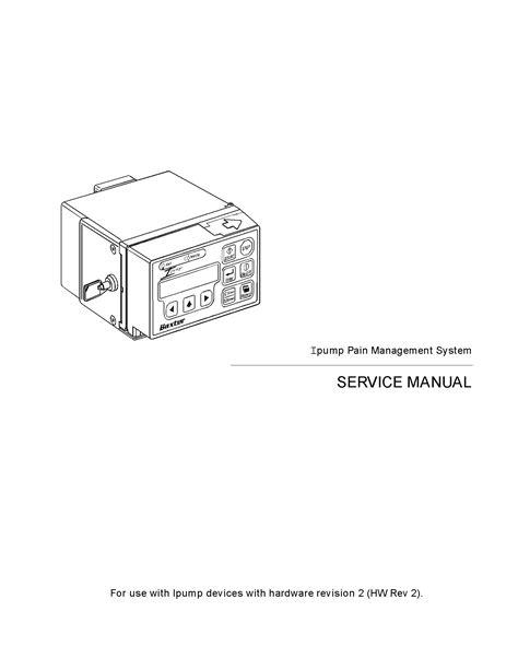 Baxter Ipump Service Manual (ePUB/PDF) Free