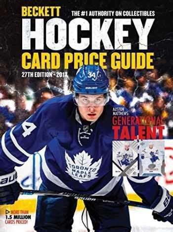 Beckett Hockey Price Guide 27 Beckett Hockey Card Price