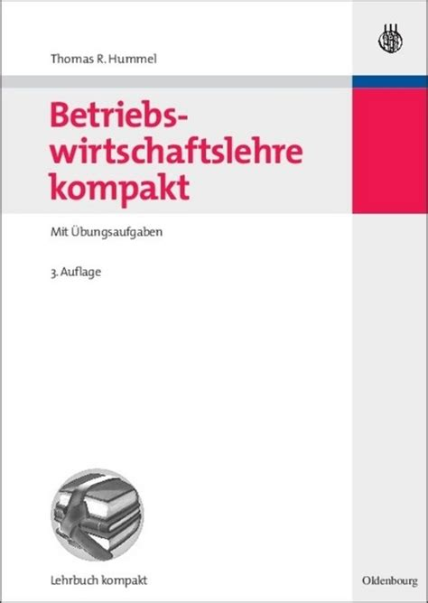 Betriebswirtschaftslehre Kompakt Hummel Thomas R (ePUB/PDF)
