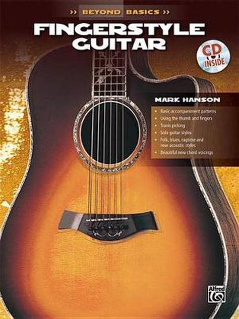 Beyond Basics Fingerstyle Guitar Book Cd Beyond Basics Paperback