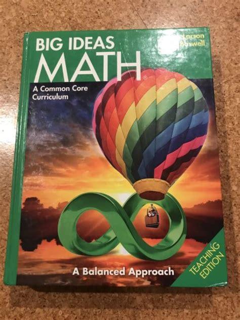 Big Ideas Math Workbook (ePUB/PDF) Free
