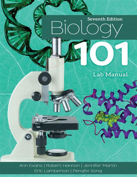 Bio 101 Lab Manual (Free ePUB/PDF)