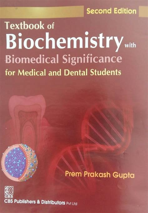 Biochemistry For Medical Dental And College Students