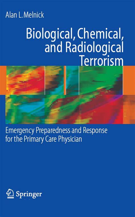 Biological Chemical And Radiological Terrorism Melnick Alan (ePUB/PDF)