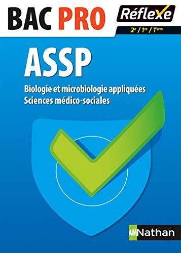 Biologie Et Microbiologie Appliquees Sciences Medico Sociales 2nd 1re Terminale Bac Pro Assp