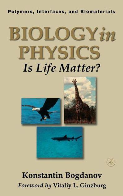 Biology In Physics Bogdanov Konstantin Yu (ePUB/PDF) Free