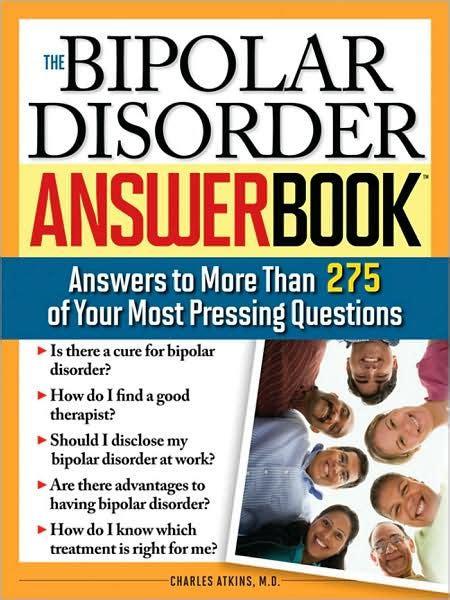 Bipolar Disorder Answer Book Atkins Charles (ePUB/PDF)