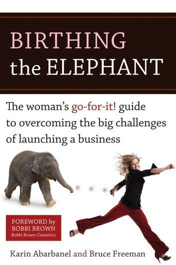 Birthing The Elephant The Womans GoForIt Guide To Overcoming The Big Challenges Of Launching A Business