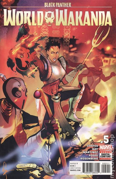 Black Panther World Of Wakanda 2016 2017 3