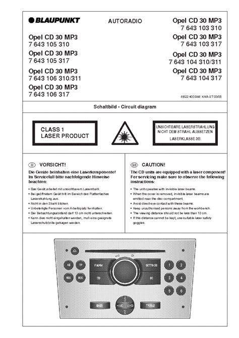 Blaupunkt Cd30 Manual (ePUB/PDF) on