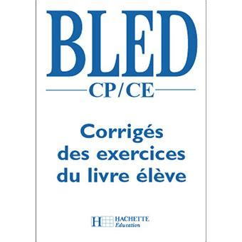 Bled Cp Ce Corriges