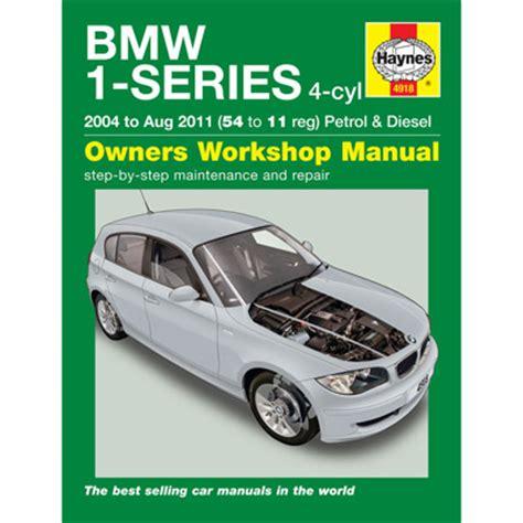 Bmw 1 Series Workshop Manual (ePUB/PDF) Free