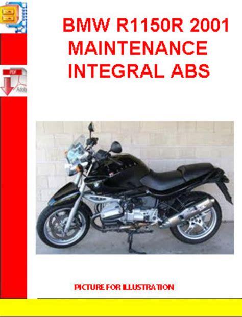 Bmw R1150r Abs Maintenance Factory Service Repair Workshop Manual ...