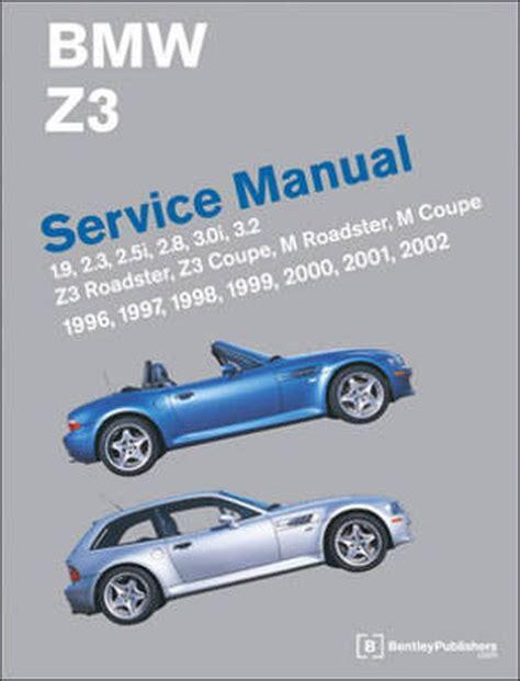 Bmw Z3 Roadster 1996 Manual (ePUB/PDF)