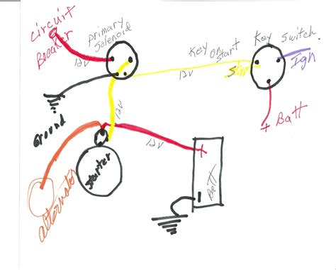 boat starter solenoid wiring diagram