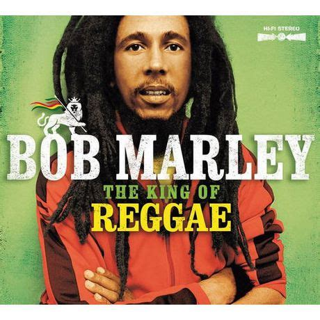Bob Marley Reggae King Of The World