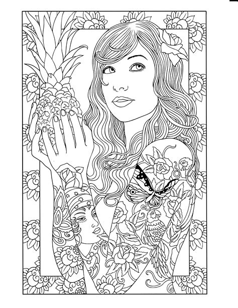 Body Art Tattoo Designs Coloring Book Dover Design Coloring Books