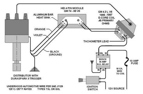 bosch ignition coil internal wiring diagram