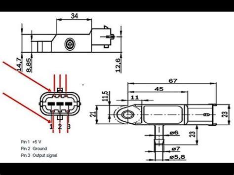bosch map sensor wiring diagram 4 wire