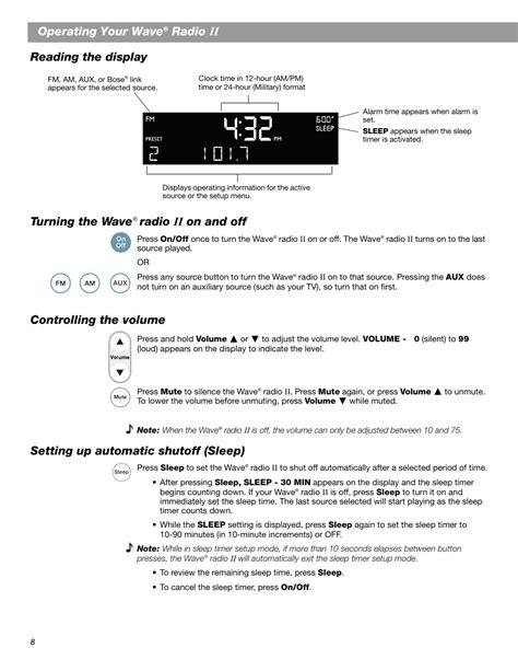 Bose Wave Radio Ii Manual (ePUB/PDF)
