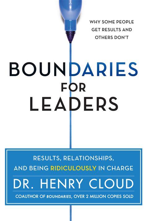Boundaries For Leaders Cloud Henry (ePUB/PDF)