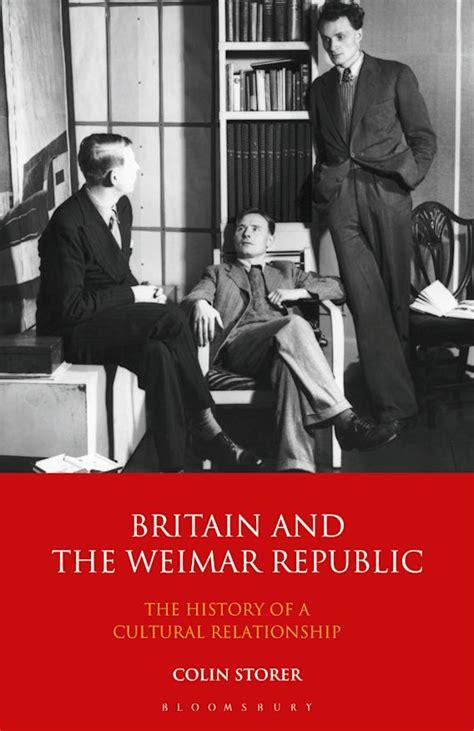 Britain And The Weimar Republic Storer Colin (ePUB/PDF)
