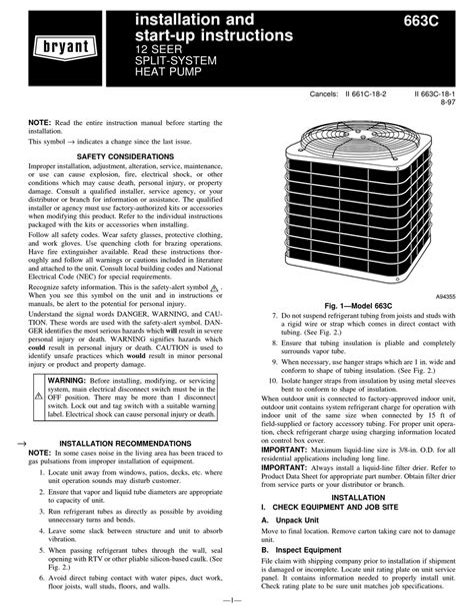 Bryant Service Manual ePUB/PDF