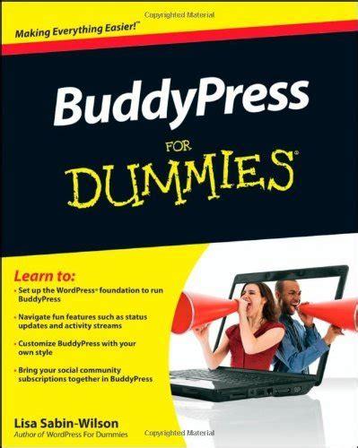 Buddypress For Dummies Sabin Wilson Lisa (ePUB/PDF)