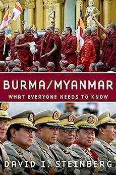 Burma Myanmar Steinberg David I (ePUB/PDF)