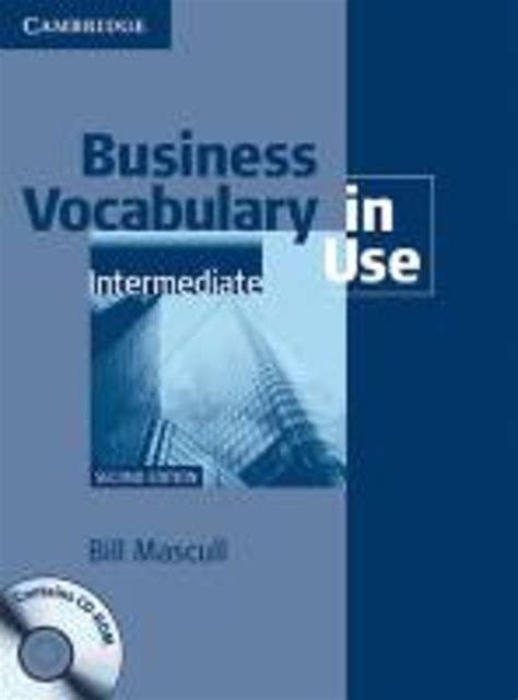 Business Vocabulary In Use Second Edition Edition With Answers And Cd Rom Book With Answers And Cd Rom