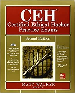 CEH Certified Ethical Hacker Practice Exams Second Edition AllinOne