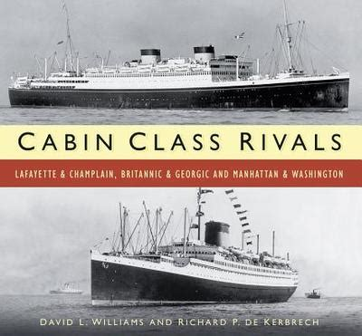 Cabin Class Rivals Lafayette Champlain Britannic Georgic And Manhattan Washington