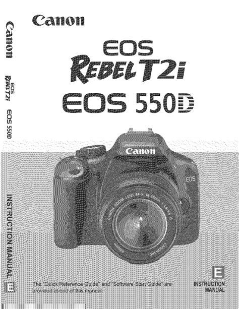 Canon Eos550d Manual (ePUB/PDF)