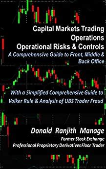 Capital Markets Trading Operations Operational Risks And Controls A Comprehensive Guide To Front Middle And Back Offices English Edition