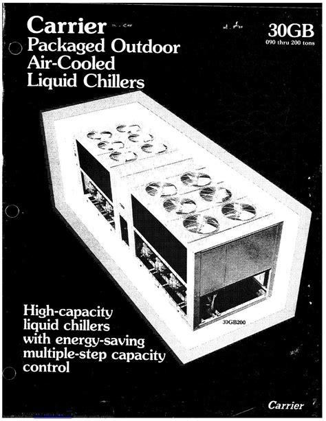 Carrier Chiller Manual ePUB/PDF