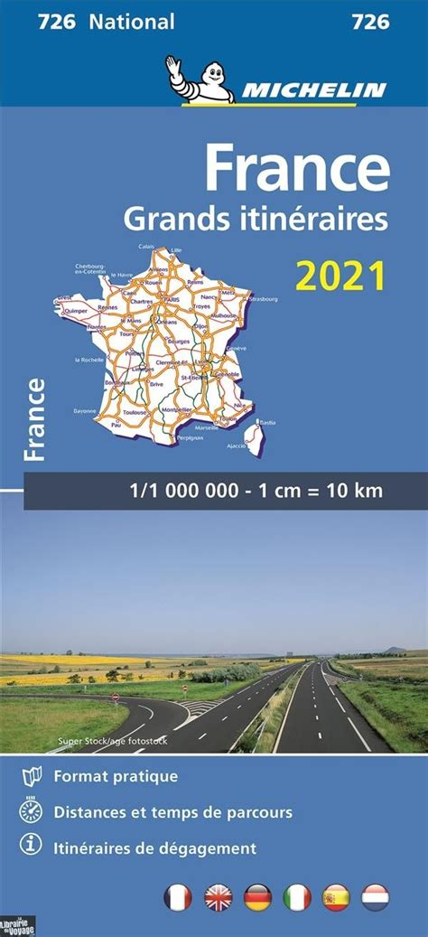 Carte Routiere Grands Itineraires France
