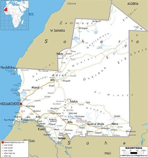 Carte Routiere Mauritania (ePUB/PDF)