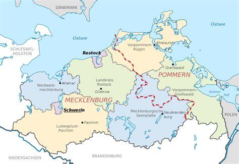 Carte Routiere Mecklenburg Vorpommern Sachsen Anhalt Brandenburg ...