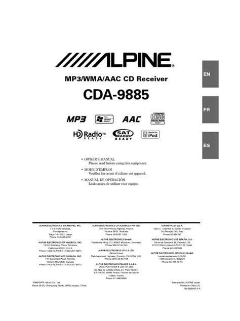 Cda 9885 Manual (ePUB/PDF)
