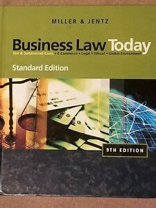 Cengagenow For Business Law Today