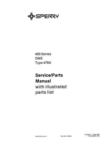 Cessna 402 Maintenance Manual (PDF files/ePubs)