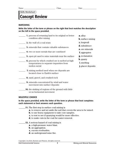Ch 14 Holt Environmental Science Concept Review (ePUB/PDF) Free