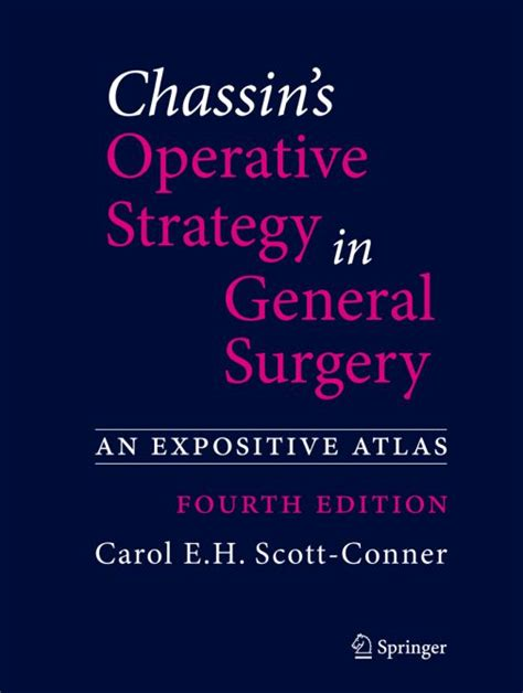 Chassin S Operative Strategy In Colon And Rectal Surgery Scott ...