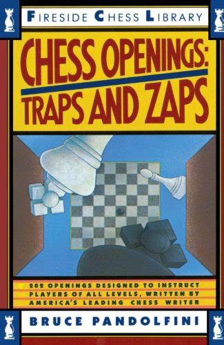Chess Openings Traps And Zaps Fireside Chess Library
