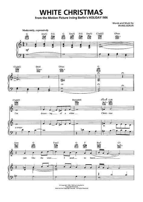 Christmas Hits Sheet Music Playlist Piano Vocal Chords