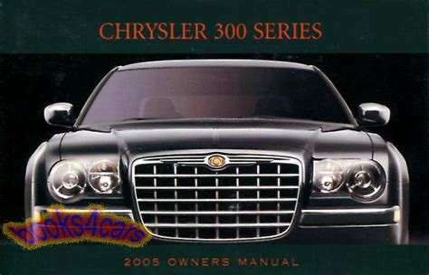 Chrysler 300 Manual 2005 (ePUB/PDF) Free