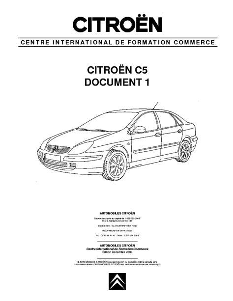 Citroen C5 Manual Pdf (ePUB/PDF)