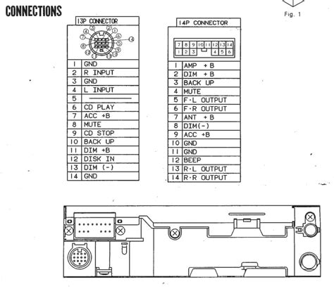 clarion cd changer wiring diagram hecho